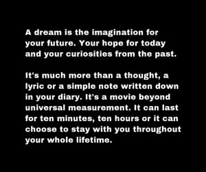 beauty, Dream, and life image