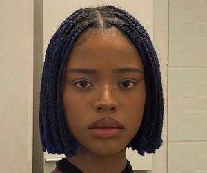 accessories, wig, and darkskin image