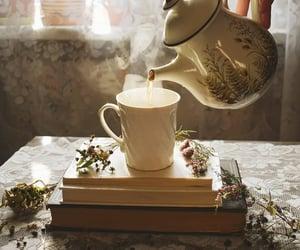 tea and book image