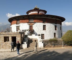 architecture, bhutan, and southern asia image
