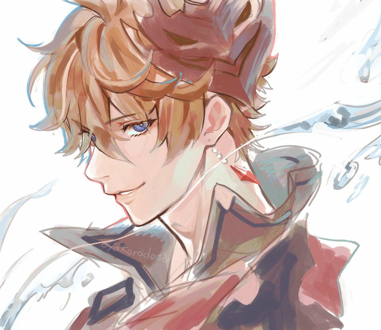 anime, bishounen, and anime boy image