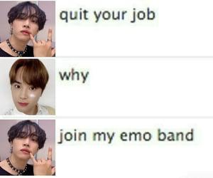 emo, meme, and lq image