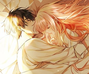 anime, illustration, and love image