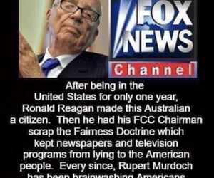 "thanks ronnie !!, rox ""news"", and rupert murdoch aka satan image"