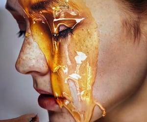 art, drawing, and honey image