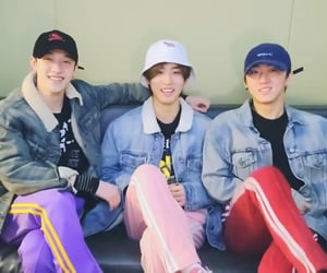 han, changbin, and bang chan image