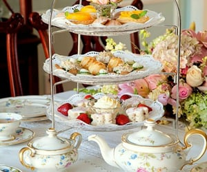 tea and food image