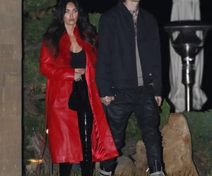 megan fox, hot couple, and machine gun kelly image