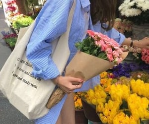 flowers, aesthetic, and carefree image