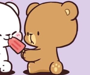 bears, cute bears, and milk and mocha image