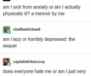 anxiety, Lazy, and recovery image