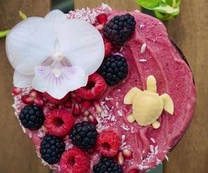 aesthetic, food, and raspberry image