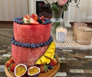 birthday, blackberry, and blueberry image