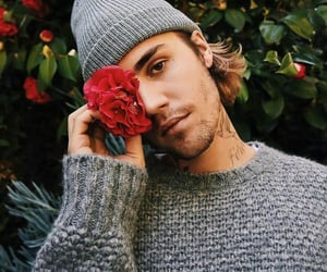 boy, tattoo, and flowers image