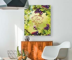 sayings, wine, and digital art image