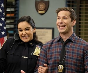 :3, jake peralta, and amy santiago image