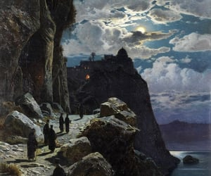 painting, art, and hermann corrodi image