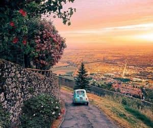 italy, sunset, and Tuscany image