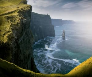 cliffs of moher, galway, and ireland image