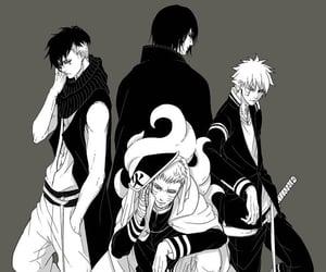 anime, manga, and sasuke uchiha image