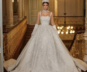 dress, white, and dresses image