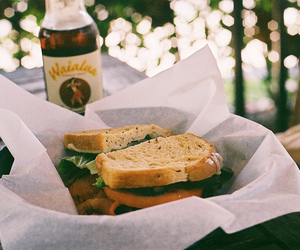 food, vintage, and sandwich image