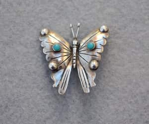 etsy, silver and turquoise, and hecho en méxico image