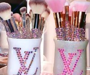 bling and makeupbrushes image