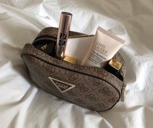 bag, cosmetics, and fashion image