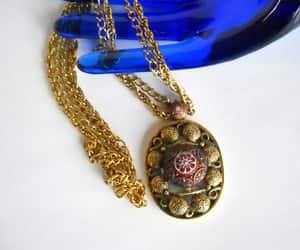 avant garde jewelry, etsy, and statement necklace image
