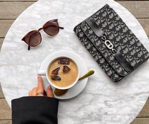 bag, sunglasses, and dior image
