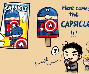 captain america and capsicle image