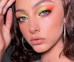 green, makeup, and maquillaje image