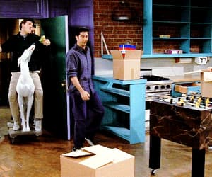 1998, chandler bing, and gif image