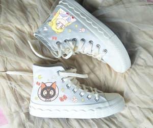 girl, sneakers, and korean image