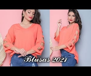 blouse, fashion, and outfits image