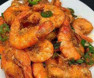 food, shrimp, and jalapeno image