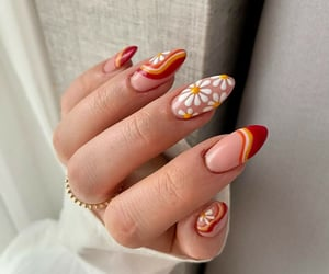 indie, nail, and style image