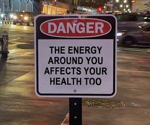 caution, toxic, and no negativity image