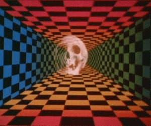 animated gif, gif, and psychedelia image