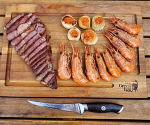 seafood and spot prawns image