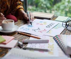 graphic design, logo design, and design tips image