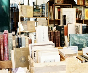 book, book store, and bookstore image