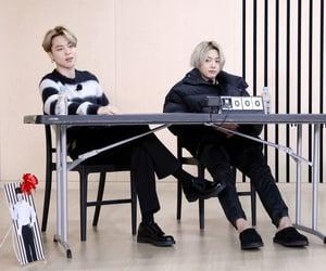 black, jk, and jungkook image
