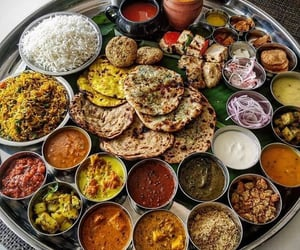 food, delicious, and indian image