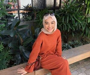 beauty, moslem, and hijab image