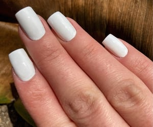 fashion, spring, and white nails image
