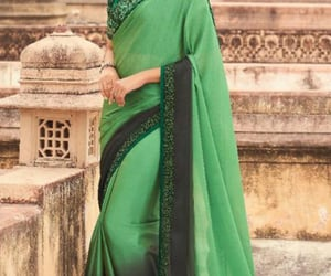 saree, usa, and traditionalsaree image