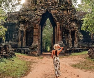 Cambodia, fearless, and jungle image