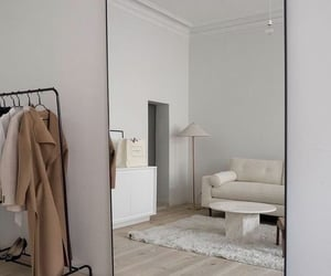 dresser, simple, and white image